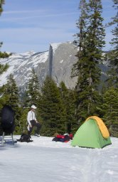 [Yosemite Snow Campsite]
