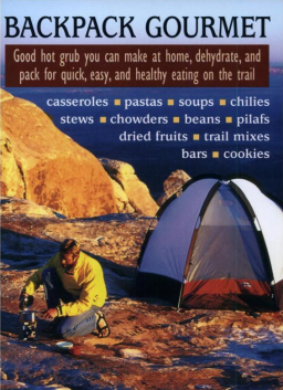 [book cover: Backpack Gourmet]