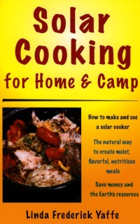 [book cover: Solar Cooking for Home and Camp]
