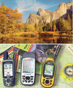 [Landscape and GPS receivers]