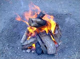 [Camp fire]